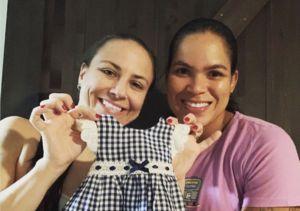 UFC Couple Amanda Nunes & Nina Ansaroff Expecting First Child