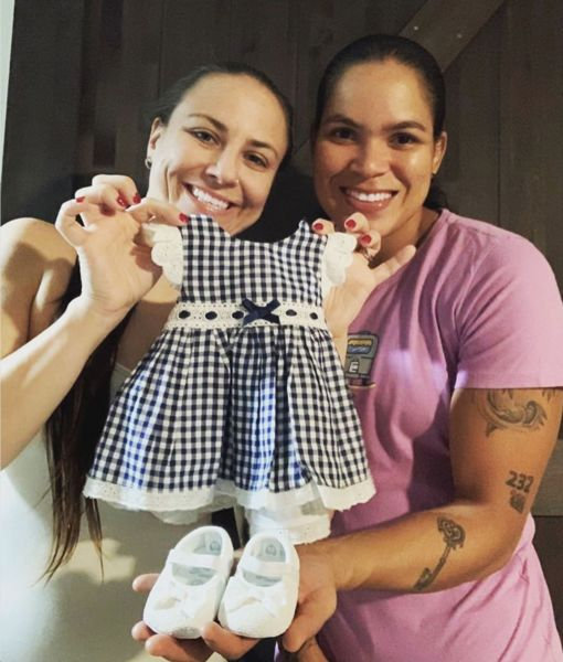 UFC Couple Amanda Nunes & Nina Ansaroff Expecting First Child