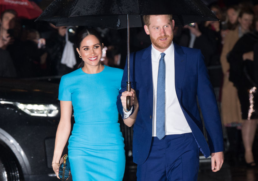 Prince Harry & Meghan Markle Secretly Move to Santa Barbara