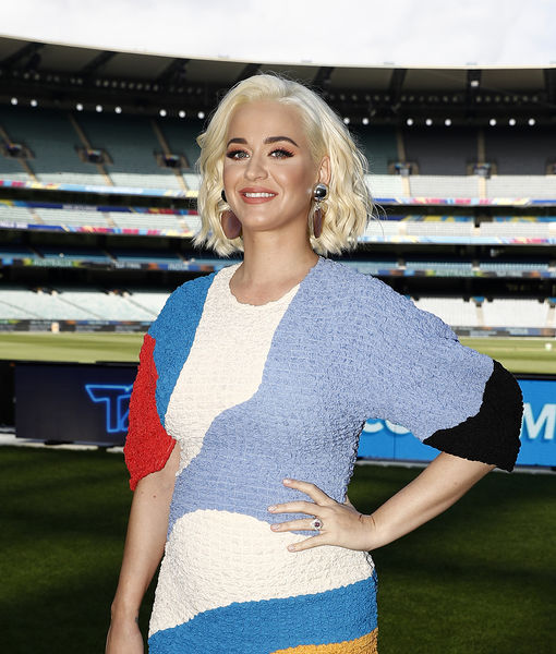 Katy Perry Shows Off Her Baby Bump