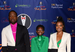Wade & Union Hit the Red Carpet with Trans Daughter Zaya