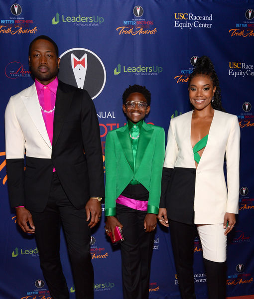Dwyane Wade & Gabrielle Union Hit the Red Carpet with Trans Daughter Zaya