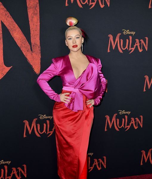 Christina Aguilera Recalls Her Singing Audition for 'Mulan'