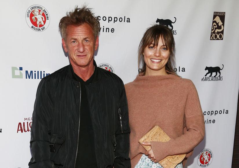Sean Penn & Leila George Make Rare Red-Carpet Appearance