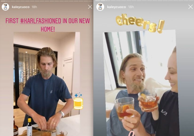 Kaley-Cuoco-Karl-Cook-Instagram