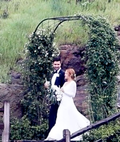 Wedding Pic! Brittany Snow Marries Tyler Stanaland