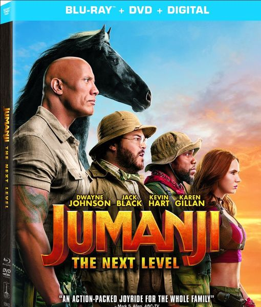 Win It! 'Jumanji: The Next Level' on Blu-ray, DVD, and Digital