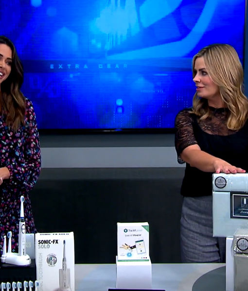 'Extra's' Deal Drop: Light Electric Toothbrushes, Tracking Devices, and Sheet…