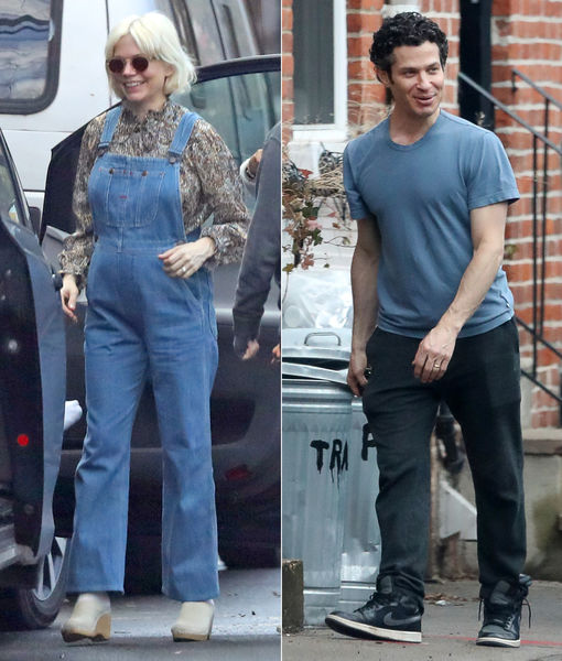 Just Married? New Clues Pregnant Michelle Williams & Thomas Kail Secretly…