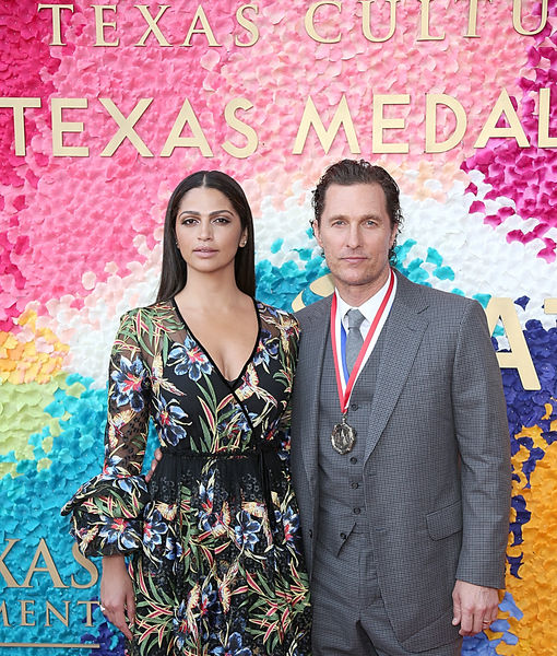 Camila Alves McConaughey Raves About Husband Matthew After His COVID-19 Video…