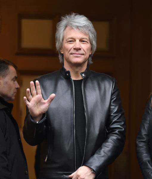 Jon Bon Jovi Says Teen Son Had COVID-19 Symptoms, Plus: How the Rocker Is…