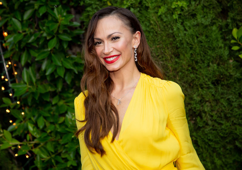 'DWTS' Alum Karina Smirnoff Welcomes First Child