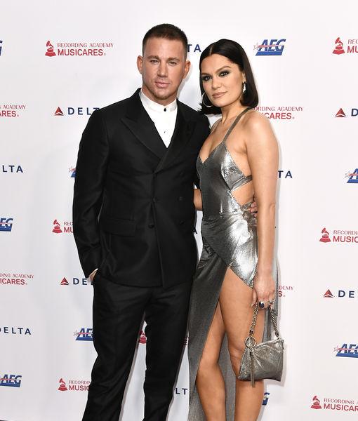 Channing Tatum & Jessie J Split Again