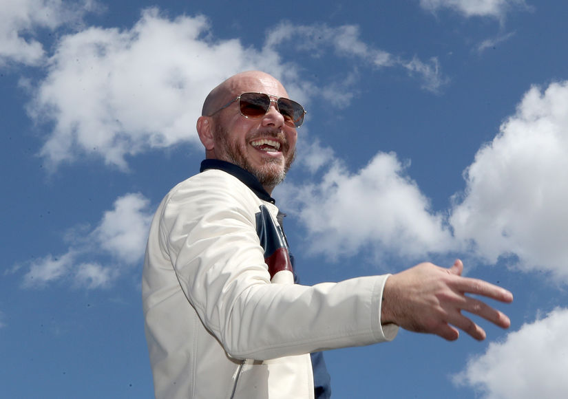 Pitbull Is Lifting Spirits and Raising Money Amid Coronavirus Pandemic with New Song
