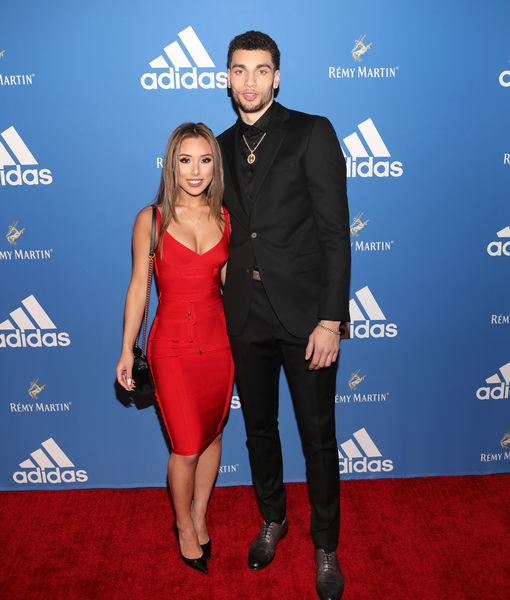 NBA Star Zach LaVine & High School Sweetheart Hunter Mar Engaged — See Her Gigantic Ring!