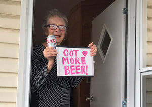 An Elderly Woman Held Up a Sign for Beer, and Molson Coors Delivered