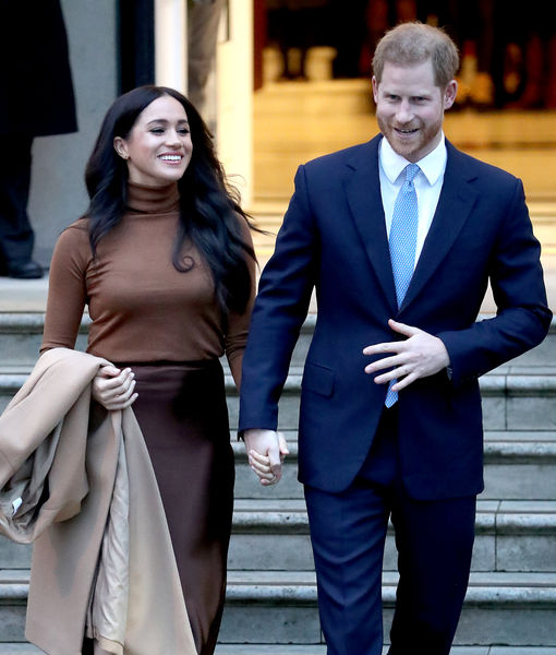 Prince Harry & Meghan Markle Deliver Meals in L.A., Plus: Their Life in…