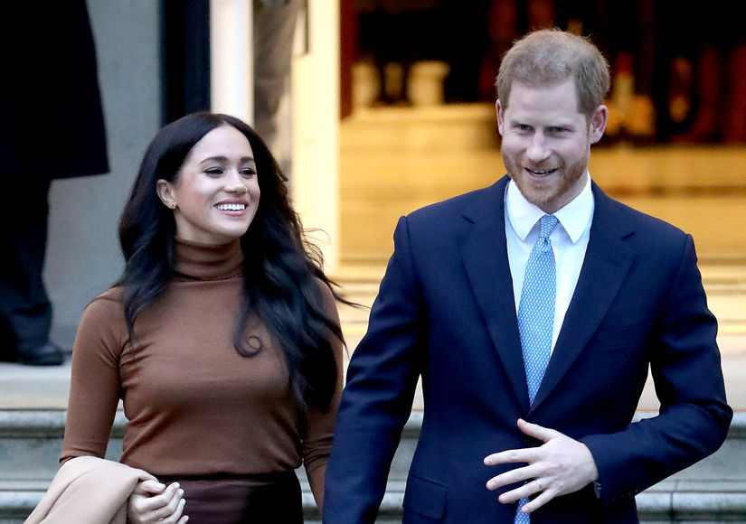 Prince Harry & Meghan Markle Are Reportedly Staying at Tyler Perry's L.A.…