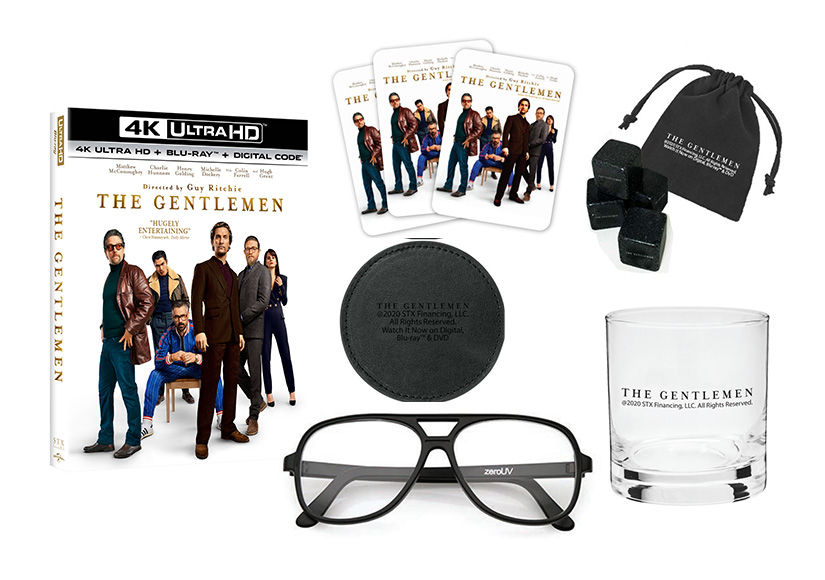 Win It! 'The Gentlemen's' Night-In Prize Pack