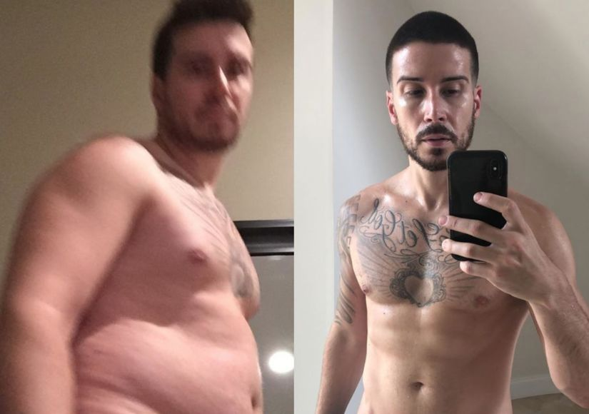 Vinny Guadagnino's Shocking Before-and-After Weight-Loss Pics