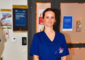Princess Sofia of Sweden Trades Tiara for Scrubs as Hospital Volunteer