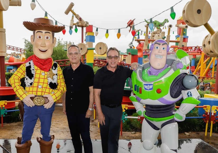 Tim Allen Gave Tom Hanks a Bit of 'Toy Story' Advice After Tom's COVID-19 Diagnosis