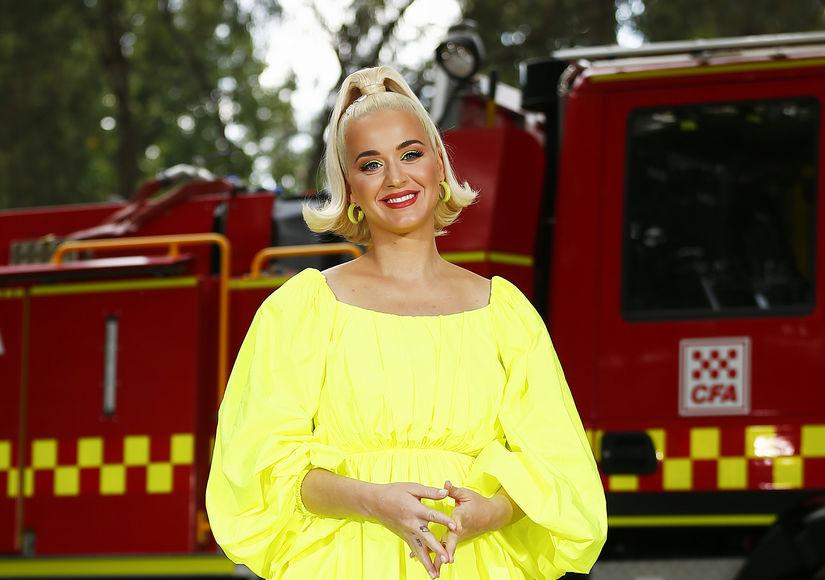 Katy Perry Talks Pregnancy in Quarantine: 'I'm Grateful I'm Not Giving…