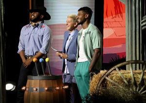 Sneak Peek! Usher Guest Stars on 'Ellen's Game of Games'