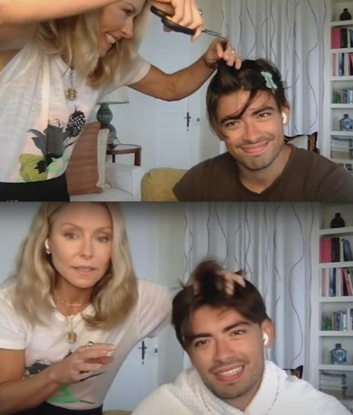Kelly & Ryan, Carrie Underwood, and More Home Haircuts with the Stars!