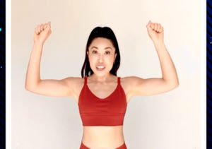 Blogilates Creator Cassey Ho's 4 Favorite No-Weights Arm Exercises