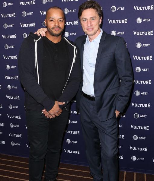 Zach Braff & Donald Faison on Late Co-Star Sam Lloyd, Nick Cordero's…