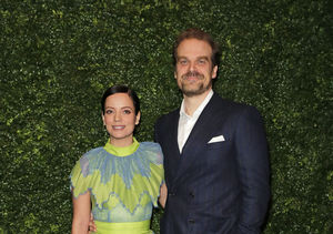 David Harbour & Lily Allen Wed in Las Vegas