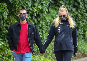 Pic! Pregnant Sophie Turner Spotted with a Baby Bump for the First Time