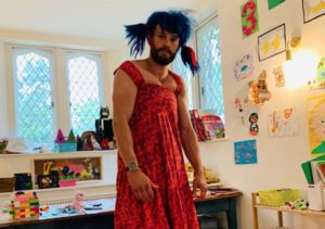 Is That You, Jamie Dornan? See the Star After Playing Dress Up with His Kids