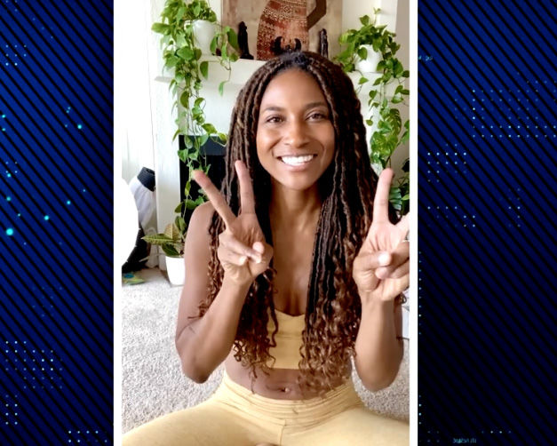 Take a Meditation Minute with Holistic Health Coach Koya Webb