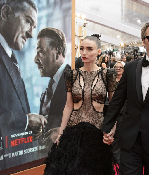 Report: Joaquin Phoenix & Rooney Mara Expecting First Child