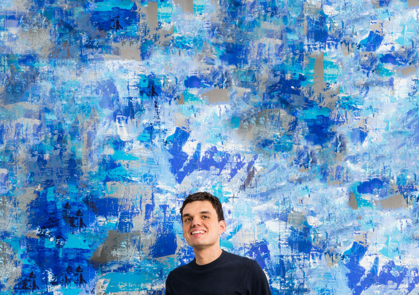 Nicholas Kontaxis' Bright & Bold Art Is as Moving as His Story