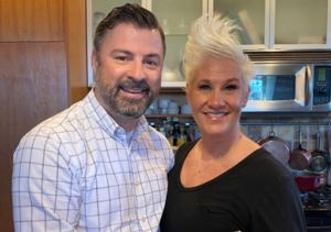 Anne Burrell Dishes on Engagement, Says Fiancé Didn't Know She Was…