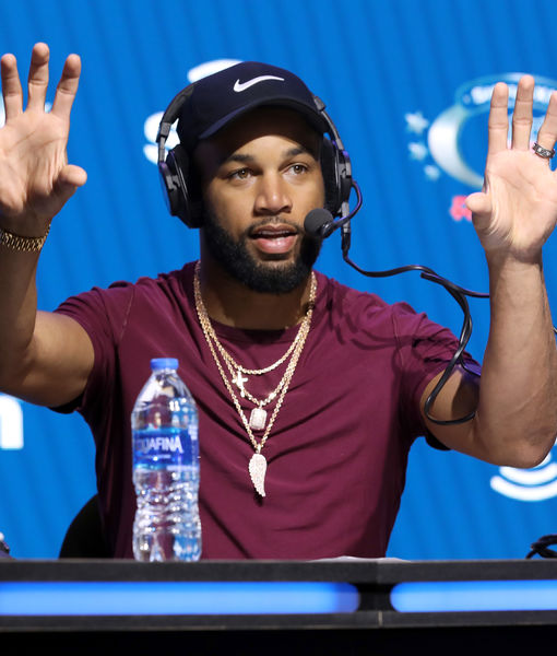 How Football Star Golden Tate Is Staying Ready for the NFL Season During…