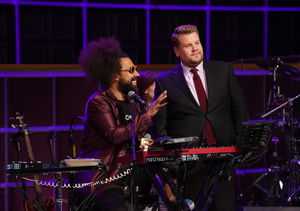 James Corden & Reggie Watts Break Down in Tears Talking About…