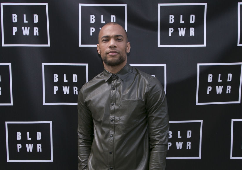 Kendrick Sampson Recounts Being Hit with Rubber Bullets During Protest, Plus: His Build Power Initiative