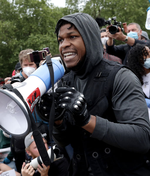 'Star Wars' Actor John Boyega Gives Impassioned Speech at Black Lives…