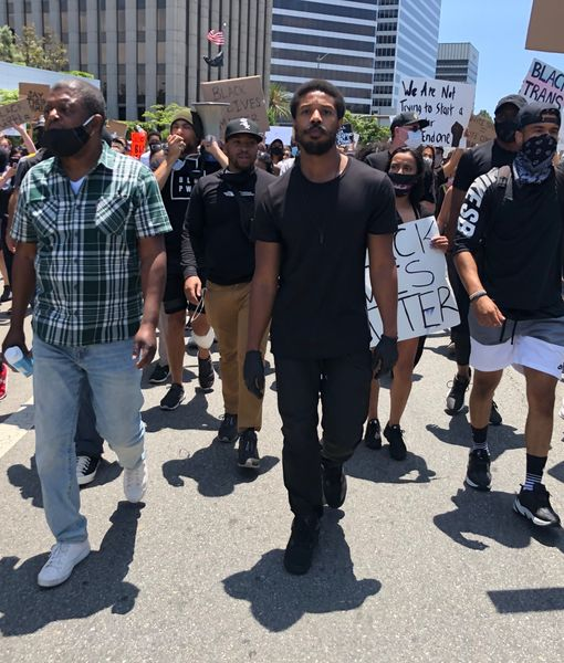 Michael B. Jordan, Jamie Foxx, Jennifer Lopez, Madonna & More Stars Continue to Fight Racism in BLM Protests