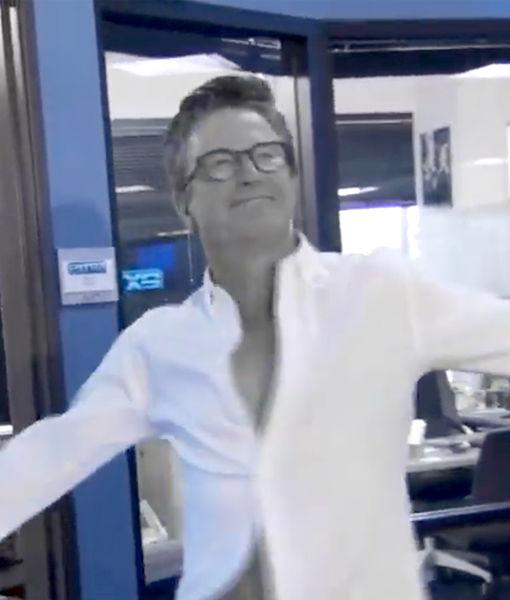 Big Man in a Little Shirt! Wardrobe Department Pranks Billy Bush