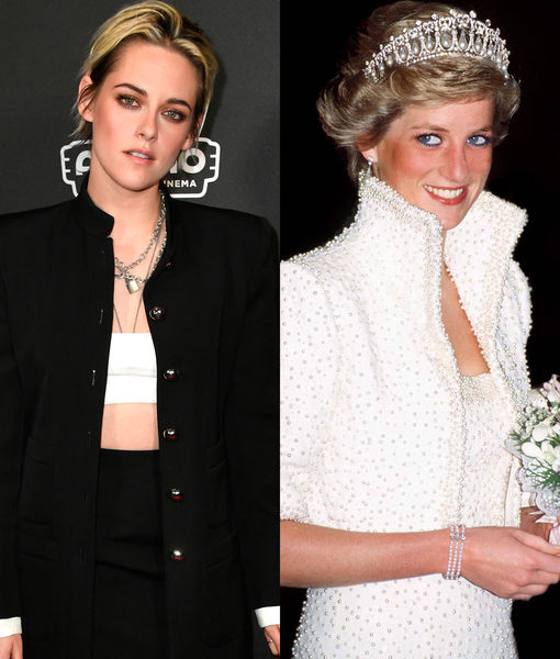 Kristen Stewart Cast as Princess Diana in 'Spencer'