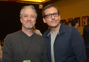 Jon Stewart Talks Reuniting with 'Remarkable' Steve Carell, Plus: His…
