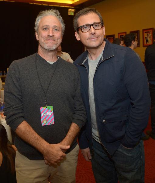 Jon Stewart Talks Reuniting with 'Remarkable' Steve Carell, Plus: His…
