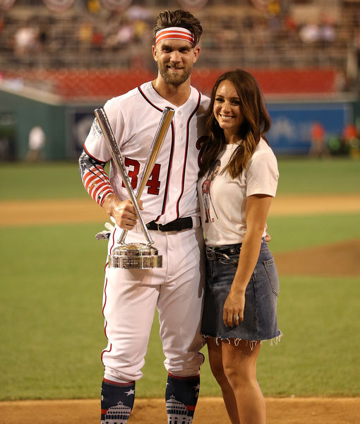 MLB Star Bryce Harper & Wife Kayla Expecting Baby #2