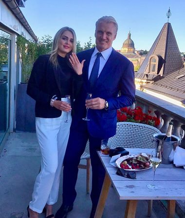 Dolph Lundgren Engaged to His Much Younger GF Emma Krokdal