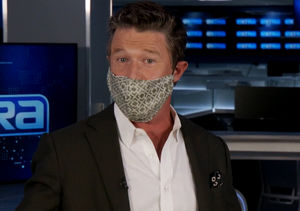 Billy Is Masking in Style Thanks to Jane Lynch